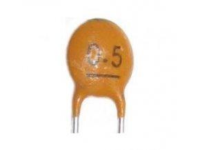 0,5p / 50V Suntan, RM = 2,54, keramický kondenzátor