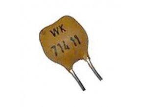 18pF / 63V WK71411, sľudový kondenzátor