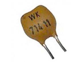 27pF / 63V WK71411, sľudový kondenzátor