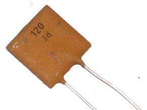 120pF / 250V TK755, keramický kondenzátor