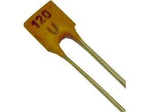 120pF / 40V TK774, keramický kondenzátor