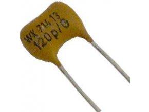 120pF / 300V WK71413, sľudový kondenzátor