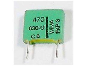 470pF / 630V WIMA, zvitkový kondenzátor