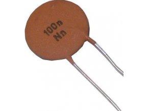 100n / 12,5V TK682, keramický kondenzátor