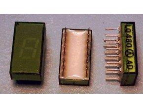 LQ480 zobrazovač .8., Zelený, TESLA