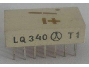 LQ340 zobrazovač + -1., Žltý TESLA