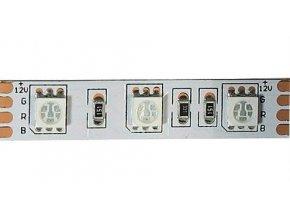 LED pásik 12V 10mm RGB, 60xLED5050 / m, IP20, modul 5cm