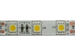 LED pásik 10mm, biely teplý, 60xLED5050 / m, IP65, modul 5cm