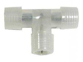 Rozbočenie, T kus pre svetelný kábel, priemer 13mm