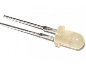 LED 4mm červená difúzna LQ1114