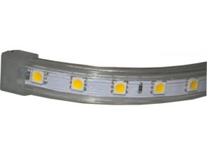 LED pásik 230V červený, 60xLED5050 / m, IP65, modul 1m
