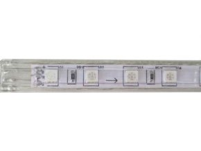 LED pásik 230V RGB, 60xLED5050 / m, IP65, modul 1m