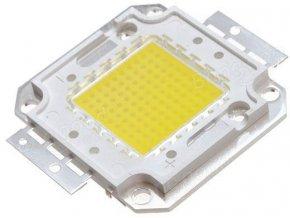 LED 50W Bridgelux, teplá biela 3000K, 5300lm / 1500mA, 30-32V, 120 °