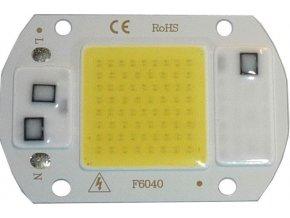 LED 20W, biela 6000K, 2000L, 120 °, napájanie 230VAC