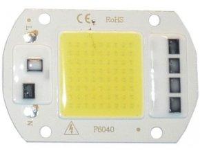 LED 50W, biela 6000K, 5000L, 120 °, napájanie 230VAC
