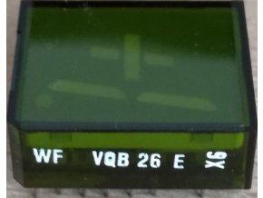 VQB26E zobrazovač +1., Zelený, RFT