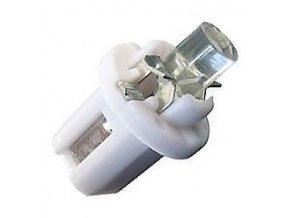 Žiarovka LED B8,5D 12V / 0,2W biela