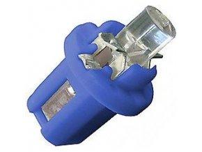 Žiarovka LED B8,5D 12V / 0,2W modrá