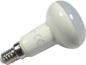 Žiarovka LED E14 R50 reflektorové, teplá biela, 230V / 6W
