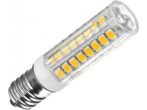Žiarovka LED E14 corn, 75xSMD2835, 230V / 4,5W, teplá biela