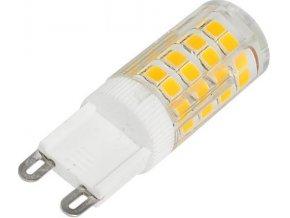 Žiarovka LED G9, 51x SMD2835, 230VAC / 3,5W, biela teplá