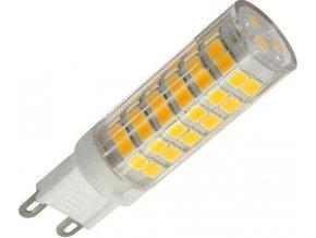 Žiarovka LED G9, 75x SMD2835, 230VAC / 4,5W, teplá biela