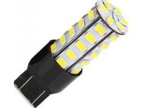 Žiarovka LED T20 (7443) 12V / 5,5W biela, (bŕzd / obrys) 27xSMD5730