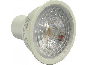 Žiarovka LED GU10, 7xSMD2835 1W, 230V / 7W, teplá biela