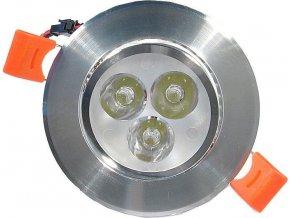 Podhľadové svetlo LED 3x1W, biele, 230V / 3,5W