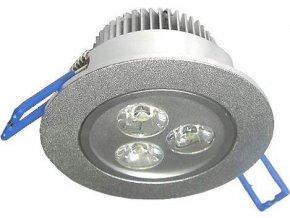 Podhľadové svetlo LED 3x1W, biele teplé, 230V / 3,5W