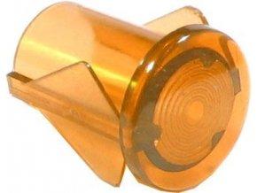 Kontrolka 250V SL656 Tatramat, oranžová do otvoru 10mm - iba kryt