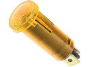 Kontrolka 230V s tlejivkou oranžová, priemer 12,5mm