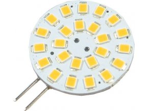 Žiarovka LED G4, 24xSMD biela teplá, 12V / 2W