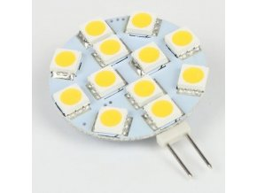 Žiarovka LED G4 12xSMD5050 biela, 12V / 2W