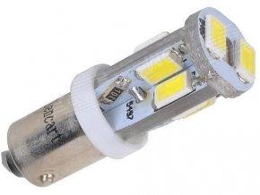 Žiarovka LED Ba9s 12V / 4W biela, 10xSMD5630