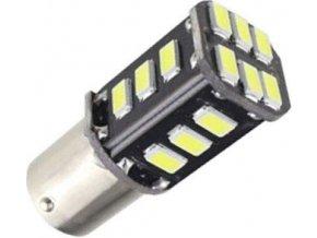 Žiarovka LED BAY15d 12V / 3,5W, biela, CANBUS, 18xSMD5730