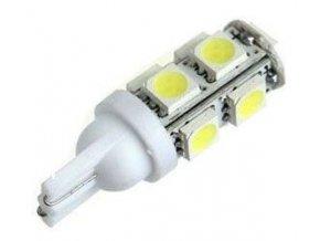 Žiarovka LED T10 12V / 2,3W biela, 9xSMD5050