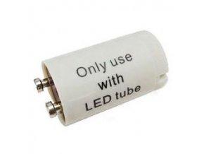 Štartér skratovacej pre žiarivky LED