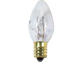 Žárovka E12 svíčková 230V/7W