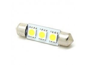 Žiarovka LED SV8,5-8 sufit 36mm 12V / 1,5W, biela, 3xSMD5050
