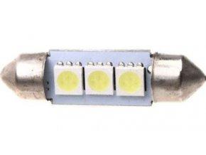 Žiarovka LED SV8,5-8 sufit 39mm 12V / 1,5W, biela, 3xSMD5050