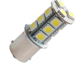 Žiarovka LED BA15s 12V / 3W biela, 18xSMD5050