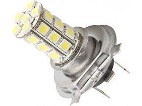 Žiarovka LED H4 12V / 5W, biela, 27xSMD5050