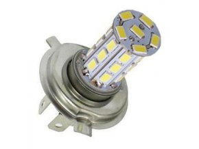 Žiarovka LED H4 12V / 6W, biela, 27xSMD5730