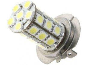Žiarovka LED H7 12V / 5W, biela, 27xSMD5050