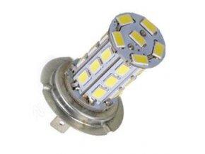 Žiarovka LED H7 12V / 8W, biela, 27xSMD5730