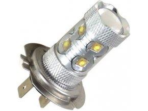 Žiarovka LED H7 10-30V, 60W, biela, 12x LED CREE XP-E