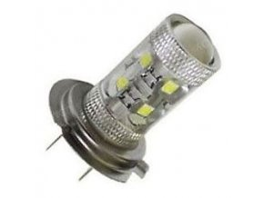 Žiarovka LED H7 10-30V, 50W, biela, 10xLED CREE XP-E
