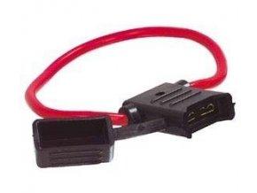 Poistkové púzdro pre autopoistky 19x12mm - s krytkou