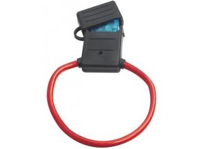 Poj. pouzdro pro autopojistku maxi - 29x22mm s krytkou, nedrží kryt